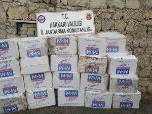 46 bin 500 paket sigara ele geçirildi