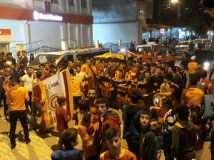 Çukurca'da Galatasaray coşkusu!