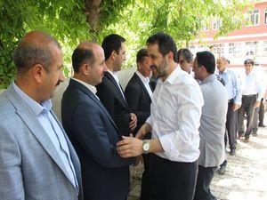 AK Parti Heyeti Şemdinli'de ziyaretlerde bulundu