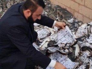 Irak'ta yangın sonrası 'yeniden seçim' çağrısı