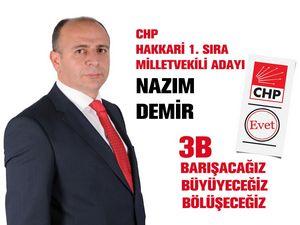 CHP Milletvekili adayı Demir'den bayram mesajı