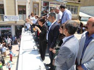 Buldan, Şemdinli'de halka seslendi