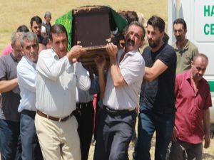 CHP'li Başkanın babası toprağa verildi
