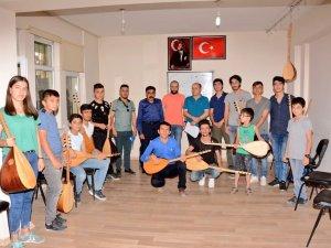 Kültür ve sanat kurslarına büyük ilgi