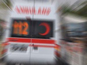Yolcu minibüsü devrildi : 10 yaralı