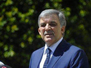Abdullah Gül'den ABD'ye tepki