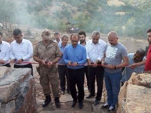 Çukurca'da mesire alanı hizmete açıldı