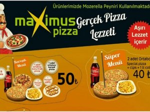 Maxsimus Pizza bayrama açık!