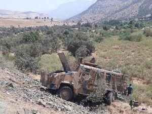 Askeri araç devrildi: 2 şehit, 5'i ağır 7 yaralı!