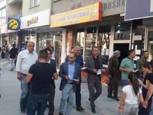 HDP 1 Eylül Dünya barış günü için davetiye dağıttı