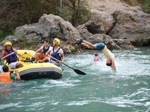 Türkiye Rafting Şampiyonası heyecanı yaşanıyor
