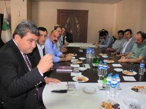CHP  Milletvekili Gökçel Hakkari'de