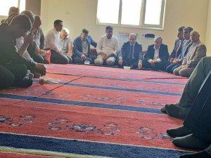 Başkan Epcim taziye ziyaretlerinde bulundu