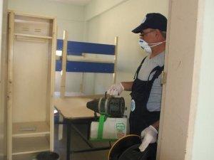 Hakkari'de tüm okullar dezenfekte edildi!