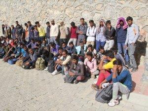 118 kaçak göçmen yakalandı