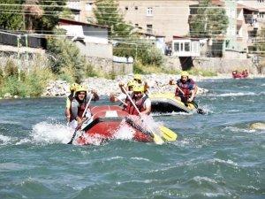 Türkiye Rafting Şampiyonasında ikinci gün
