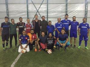 Fatih Keskin 2. Halı saha futbol turnuvası başladı