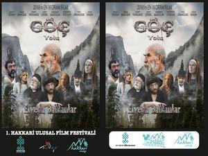"""""""Göç Yolu Elveda Balkanlar"""" isimli filmin galası Hakkari'de yapılacak"""