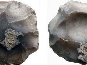 200 bin yıllık alet bulundu