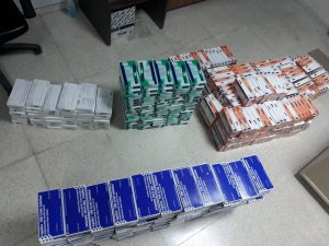 90 bin TL'lik kaçak ilaç ele geçirildi