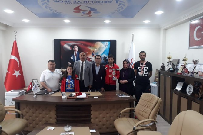 Sümbül engellilerden Türkiye üçüncülüğü