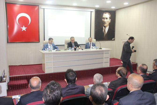 4. Dönem il koordinasyon kurulu toplantısı yapıldı