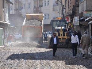 Yüksekova'da stabilize çalışmaları başlatıldı
