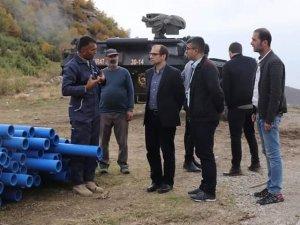 Çukurca'da içme suyu sıkıntısı tarih oluyor!