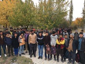 47 yabancı uyruklu kaçak şahıs yakalandı