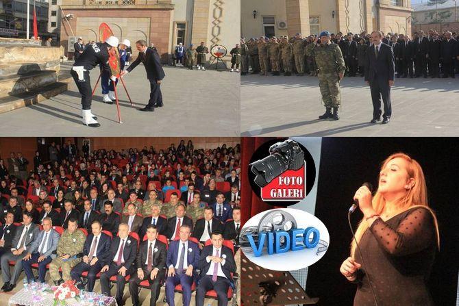 Hakkari'de 10 Kasım Atatürk'ü anma etkinlikleri