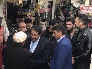 Başkan Gür, Şemdinli'de ziyaretlerde bulundu