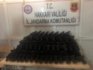339 adet kurusıkı tabanca ele gecirildi