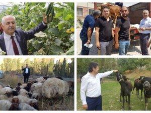Çiftçiye 7 milyon 530 TL'lik hibe desteği verildi