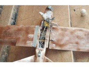 Derecik'te patlayıcı düzenekli maket uçak ele geçirildi