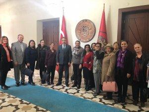Yüksekovalı kadınlar, Konya Valisi Toprak'ı ziyaret etti