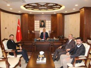 Başkan, Keskin'den Vali Akbıyık'a ziyaret