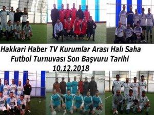 Kurumlar arası futbol turnuvası için son gün!