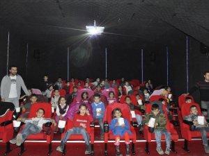 Çukurca'da sinema keyfi