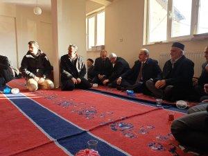 Başkan Epcim Taş, Garipgazioğlu ailesine taziye ziyareti
