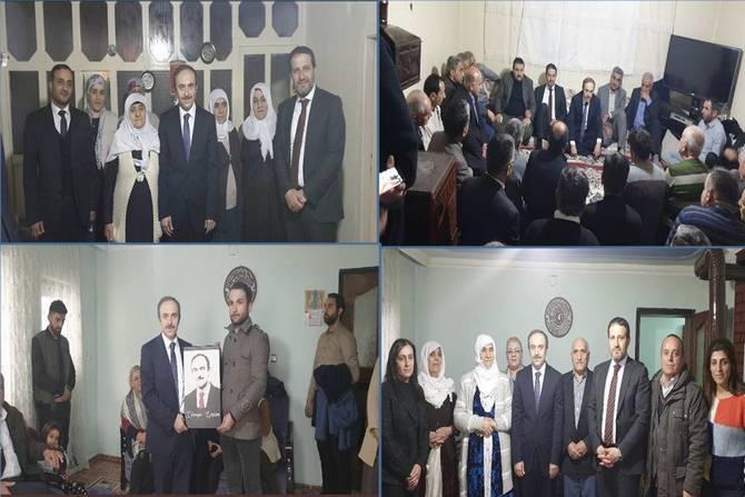 Başkan Epcim'den Özatak ve Öztaş ailelerine ziyaret