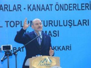 Başkan Taş, Bakan Soylu'ya Hakkari sorunlarını iletti
