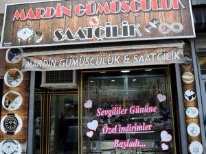 Mardin Gümüşçülük'ten 14 Şubat' indirimi