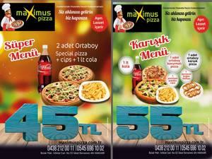 Maximus Pizza'da indirimler sürüyor