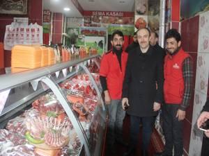 Başkan Epcim Altay Caddesi esnafını ziyaret etti