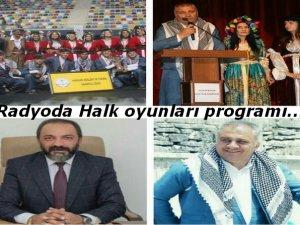 Radyoda Halk oyunları programı…Bağlantı