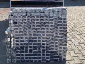 10 bin paket gümrük kaçağı sigara ele geçirildi
