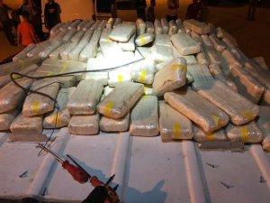 2018 yılında 6 ton 417 kilo uyuşturucu ele geçirdi