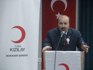 Türk Kızılay'ından Hakkari'ye 8 milyon TL yatırım müjdesi