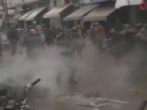 Motorsikletli bombalı saldırı!
