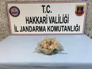 Yolcu minibüsünde 2,5 kilo eroin ele geçirildi